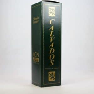 Coffret Calvados Vert et Or 70cl
