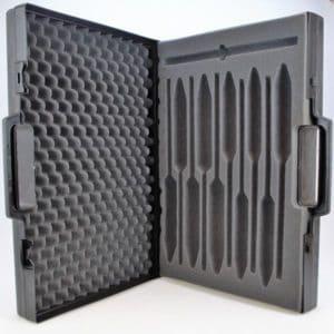 Malette PVC pour 10 alcoomètres et 1 thermomètre